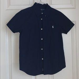 Boys Ralph Lauren Shirt Sleeve Dress Shirt